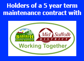 Proud to hold an Engineering Contract with Mid Suffolk District Council